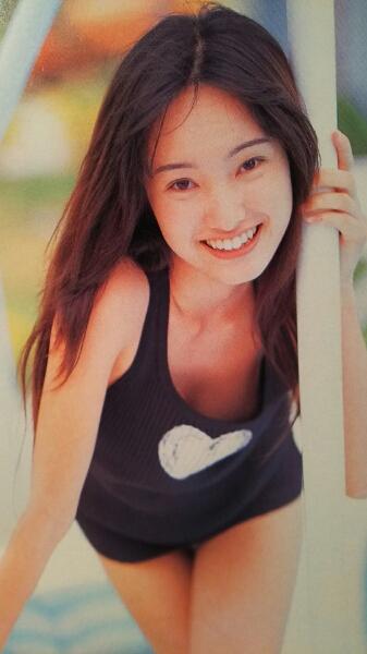 千葉麗子さんの水着