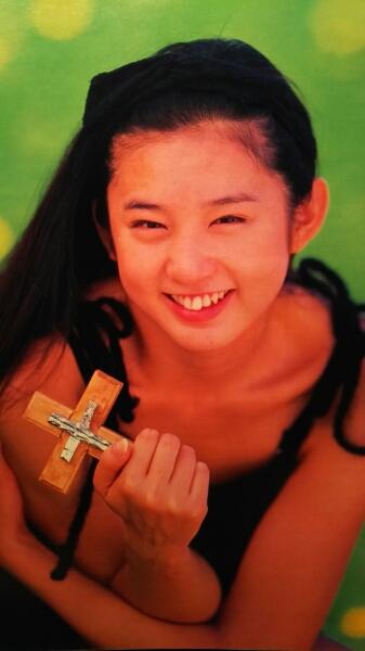 中森友香【週刊ヤングジャンプ】1995.2.9号ページ切り取り