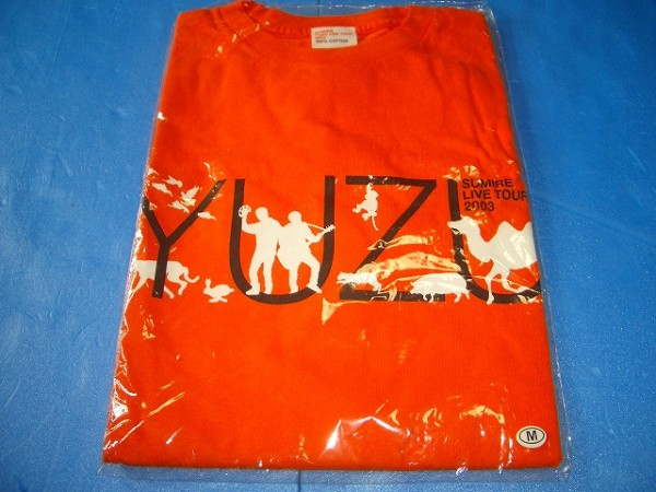 ゆず ツアー Tシャツ Mサイズ 新品2003 すみれ①