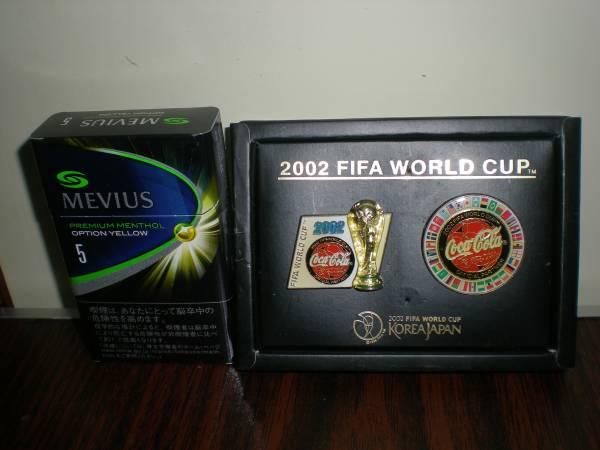 2002年FIFAワールドカップピンバッジ