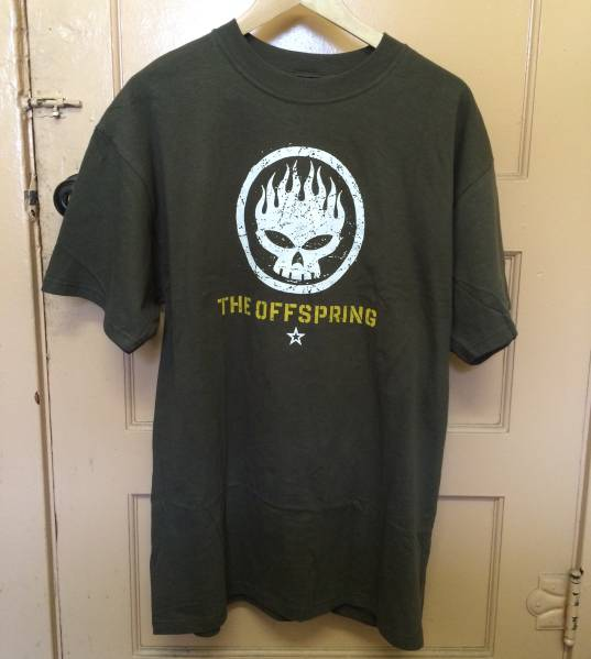 THE OFFSPRING ビンテージ Tシャツ GREEN DAY nirvana rap tee L