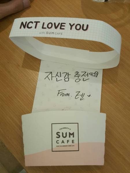 ★ NCT テン TEN SUM 応援メッセージ ★