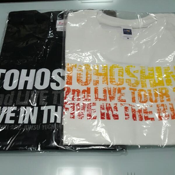 送料込 東方神起 2nd LIVE TOUR 2006 Tシャツ タオル バッグ