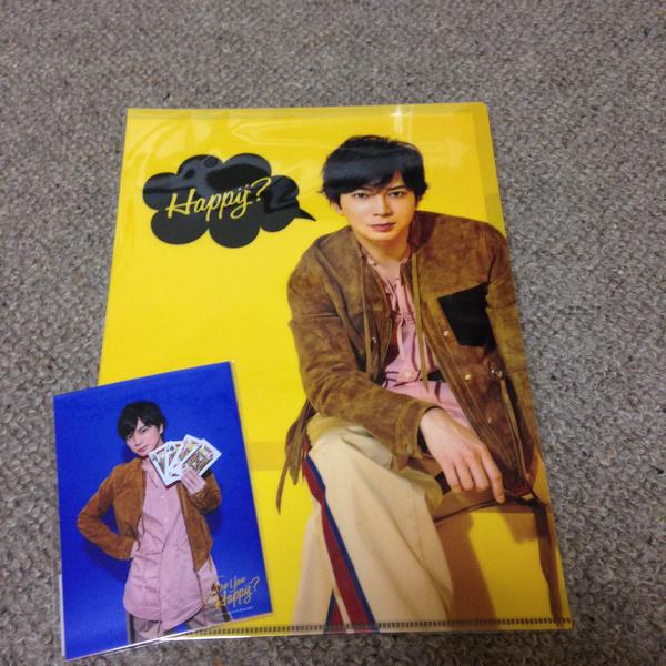 嵐『Are You Happy?』☆松本君フォトセット&クリアファイル