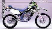 1993- KLX250SR Dトラッカー グラフィック デカール 2