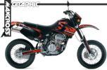 1993- KLX250SR Dトラッカー グラフィック デカール 6