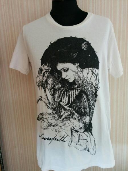 crossfaith Tシャツ Lサイズ a812 ライブグッズの画像