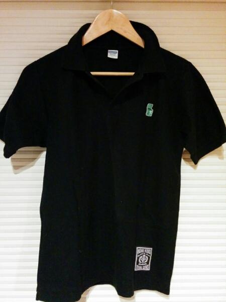 dustbox ポロシャツ 黒 サイズS ダストボックス a607