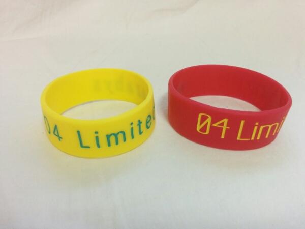 04 limited sazabys フォーリミ ラバーバンド 2個セット a515