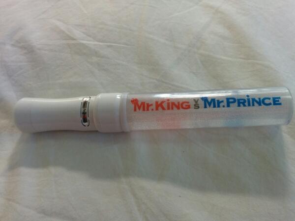 Mr.King vs Mr.Prince ペンライト キンプリ ジャニーズJr a858