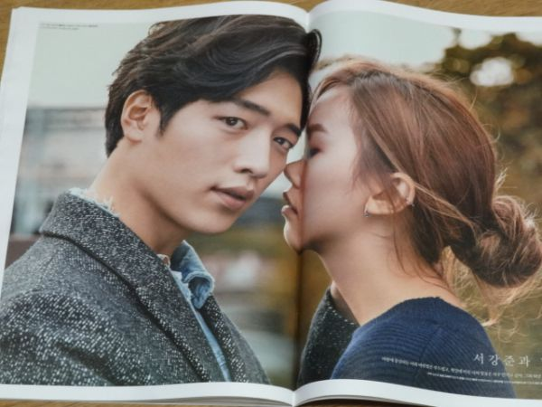 ◆ソ・ガンジュン AOA ソリョン◆2015年「HIGH CUT」韓国雑誌