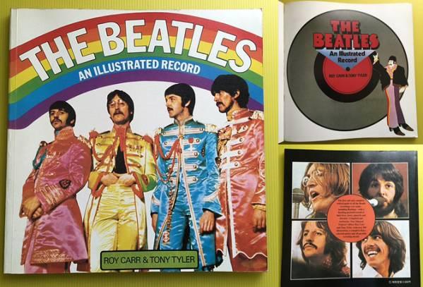 ★絶版 The Beatles「AN ILLUSTRATED RECORD」日本語版 良好★