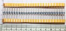 国産 金属皮膜抵抗 360Ω(1/4W ±1%)100本