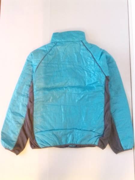 サイド切替中綿ダウンジャケット ブルー×グレー3Lサイズ【新品タグ付き】_画像3