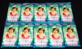 ★新品 ワニブックス トレーディングカード 釈由美子 2000 in ITALY 10パック