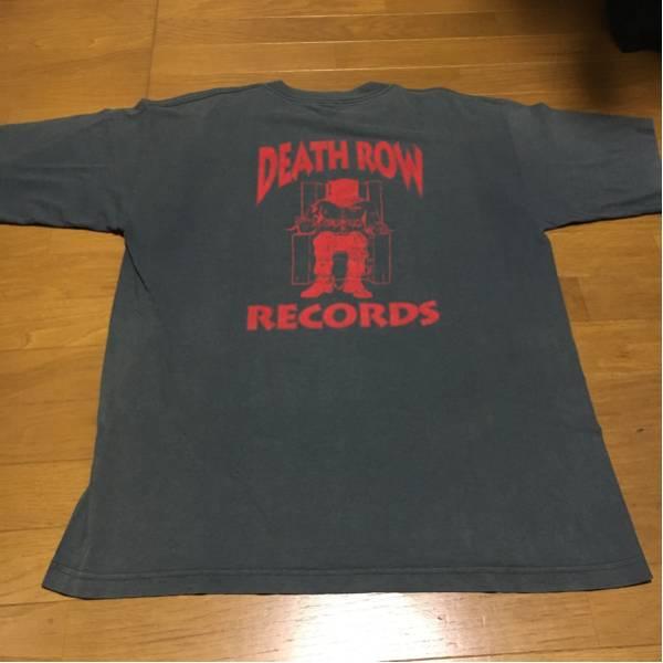 rap tee tees deathrow snoop 2pac dr.dre Tシャツ ビンテージ