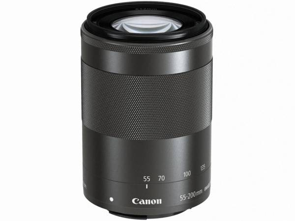◆CANONレンズ EF-M55-200mm F4.5-6.3 IS STM ブラック◆1年保証
