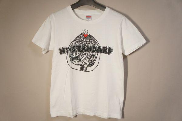 ハイスタンダード Tシャツ 白 S/Hi-STANDARD STAYGOLD ハイスタ ライブグッズの画像