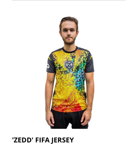 ZEDD ゼッド 公式 FIFA ジャージ ユニフォーム USA 限定 完売 ライブグッズの画像