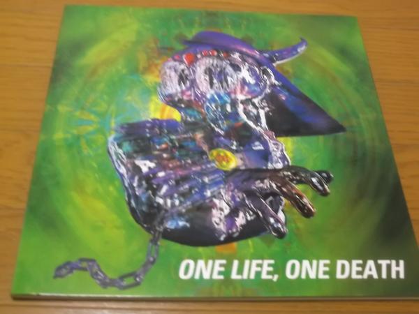 △ バクチク BUCK-TICK ツアーパンフ【 ONE LIFE, ONE DEATH 】