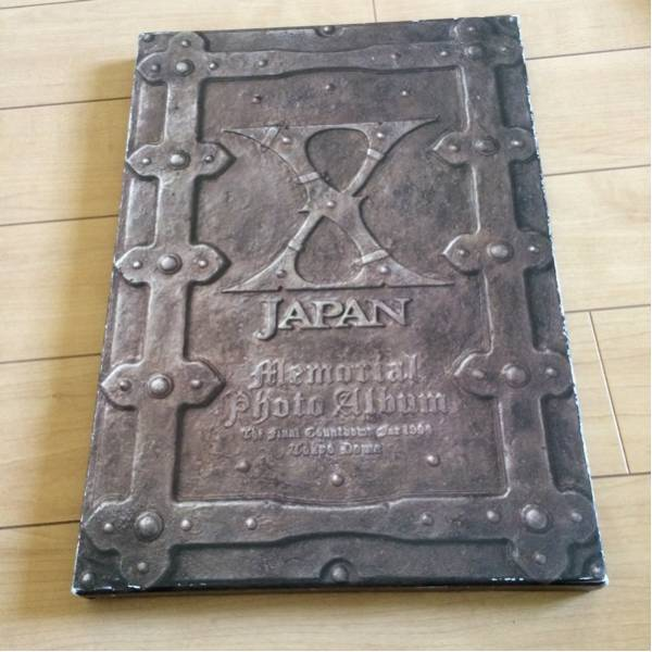 X JAPAN memorial photo album 限定 写真集