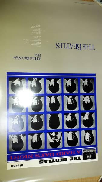 ザ・ビートルズ/A HARD DAYS NIGHT 大型ポスター未使用品