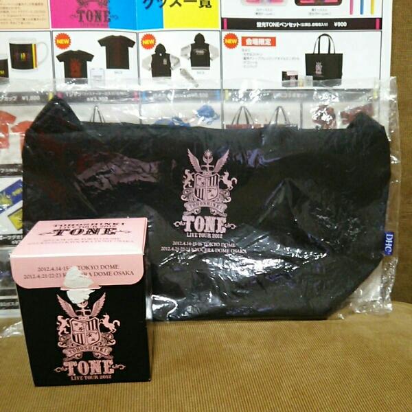 東方神起 TONE LIVE TOUR 2012 ミニバッグ DHC 新品