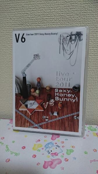 V6 DVD live tour 2011 Sexy.Honey.Bunny! 通常盤