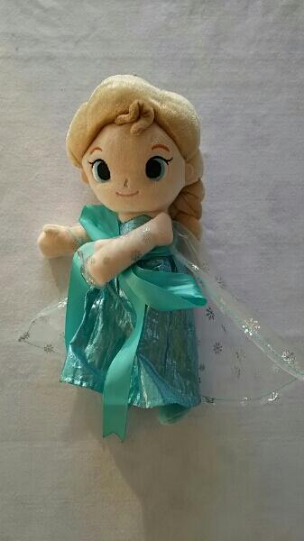 ☆未使用・アナと雪の女王・エルサ・ぬいぐるみ☆ ディズニーグッズの画像