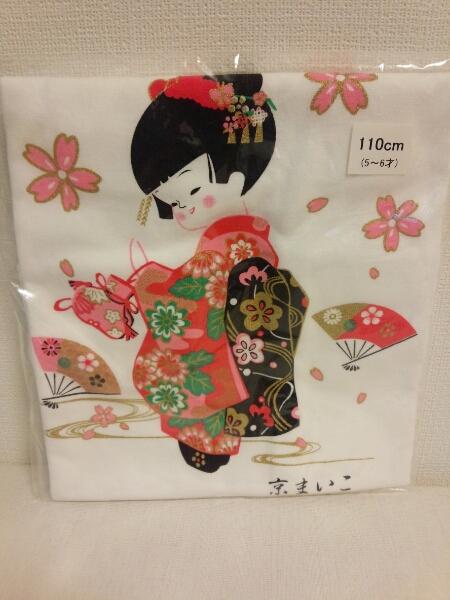 京都舞妓さんTシャツ110㎝☆まいこさん☆子供服