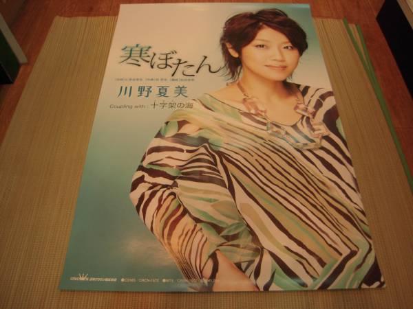 ポスター: 川野夏美「寒ぼたん」