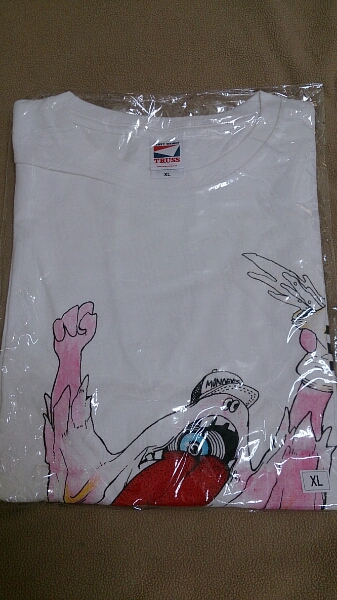 MONOEYES バンドTシャツ ホワイト XLサイズ 新品未開封 ライブグッズの画像