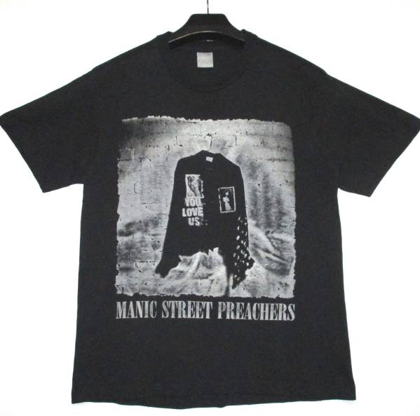 MANIC STREET PREACHERS Tシャツ YOU LOVE US ロック