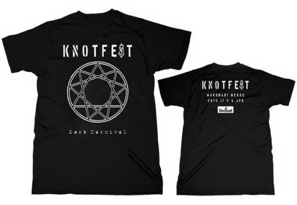 X KNOTFEST DeviluseコラボTシャツSlipknot mwamノットフェスsim