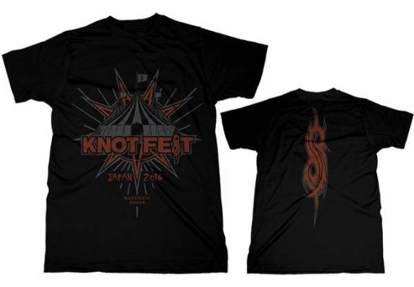 S即KNOTFEST 2016 TシャツSlipknot MAN WITH A MISSIONノットフェスsim ANTHRAX the GazettE jealkb MARILYN MANSON pizza of death RIZE g_画像1