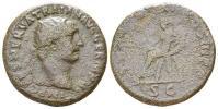 古代ローマ帝国 皇帝トラヤヌス SC 12,5 g/ 27 mm