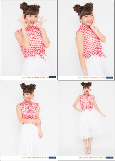 ★はぎすずバスツアー 萩原舞2L判生写真4枚セット ℃-ute  ライブグッズの画像