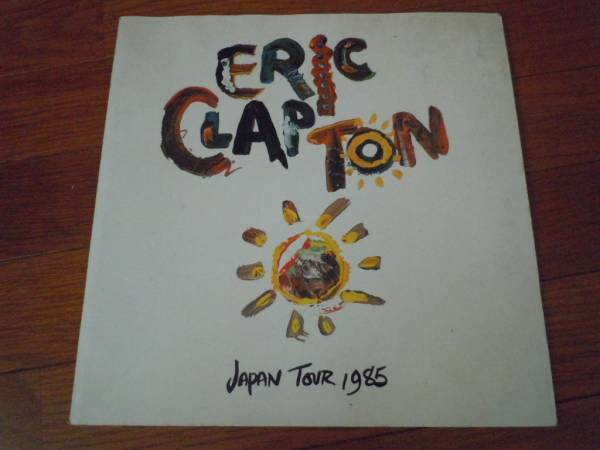 ツアーパンフ◆ERICCLAPTON/エリッククラプトン◆1985年ジャパン