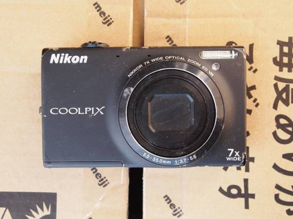 【動作未確認】Nikonニコン COOLPIXクールピクス S6100