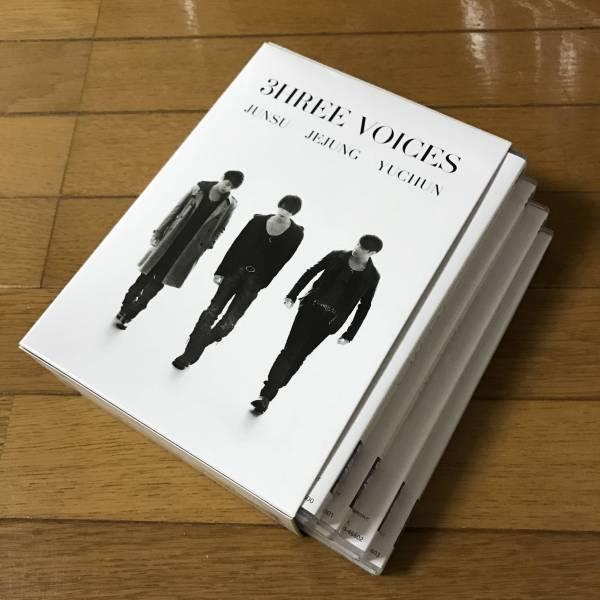 【JYJ】3hree VOICES DVD オリジナルステッカー付き ライブグッズの画像