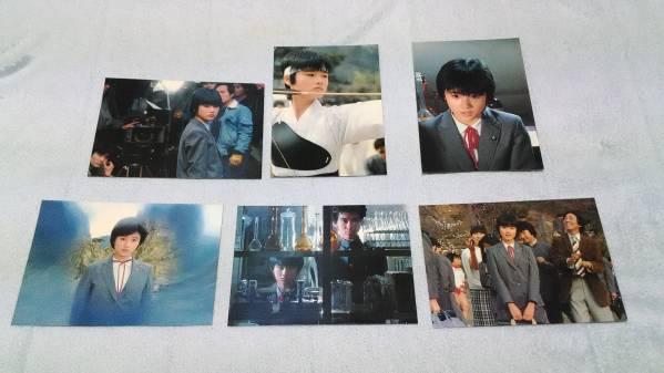 原田知世 時をかける少女 ポストカード 6枚セット