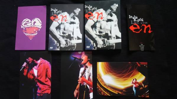 稲葉浩志 LIVE en 2004 DVD 即決 ライブ フォトカード付き  ライブグッズの画像