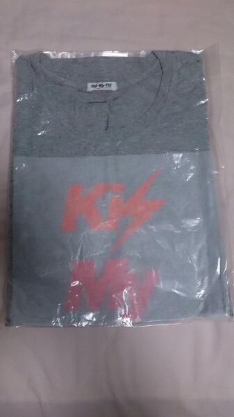 [送料無料]Kis-My-Ft2 ミントツアー 2012 Tシャツ