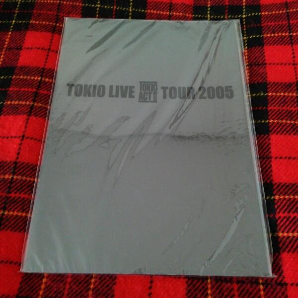 TOKIOツアーパンフレット2005 ACTⅡ ライブグッズ
