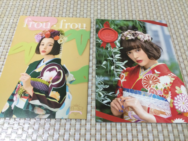 非売レア☆玉城ティナ 振袖着物カタログ 写真集 2冊セット
