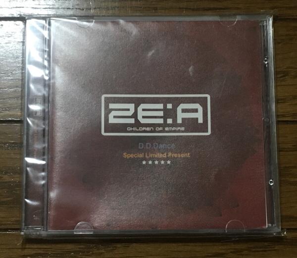 【送料込】ZE:A 『D.D.Dance』直筆サイン入り *オマケカード コンサートグッズの画像