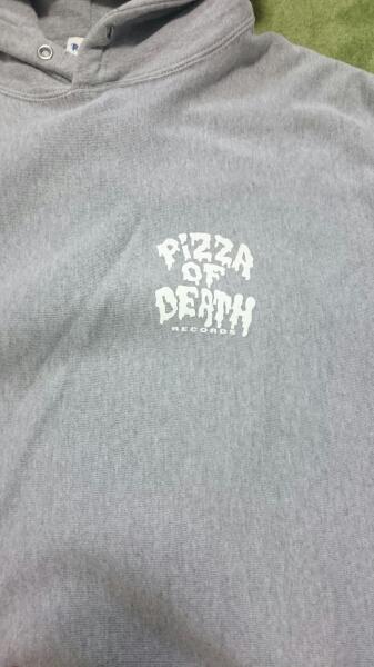 ☆ハイスタンダード☆ パーカー Lサイズ PIZZA OF DEATH ライブグッズの画像