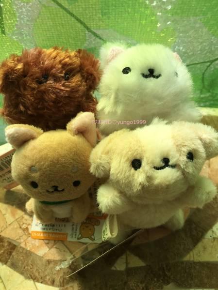 いいわけん てのりぬいぐるみ 4種 チワワ トイプ 柴犬 シーズー グッズの画像