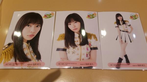 HKT48 5周年Anniversary生写真 コンプ指原莉乃3 ライブグッズの画像