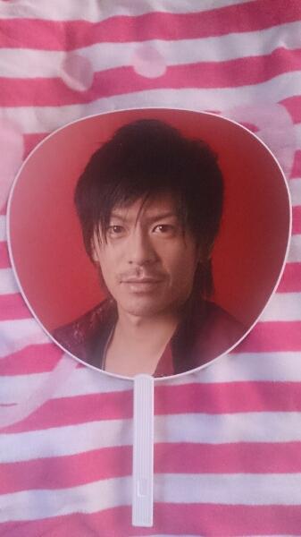 V6 森田剛 ASIA TOUR 2009 in SEOUL ★TAIPEI うちわ コンサートグッズの画像